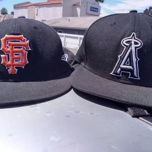 New era sports team hats MLB NFL and NBA official